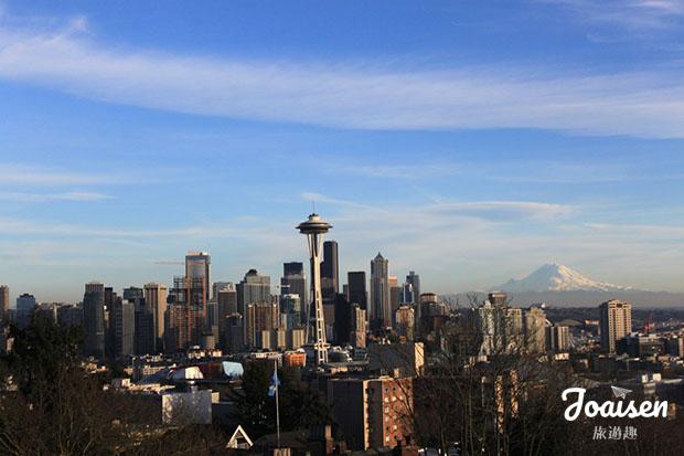 【美國華盛頓】拍攝西雅圖市景的最佳地方 – Kerry Park