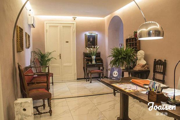 【義大利托斯卡尼】CP值高!推薦佛羅倫斯車站附近旅館——「Hotel Joli」