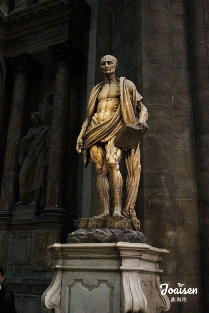 聖巴多羅買(St. Bartholomew)雕像