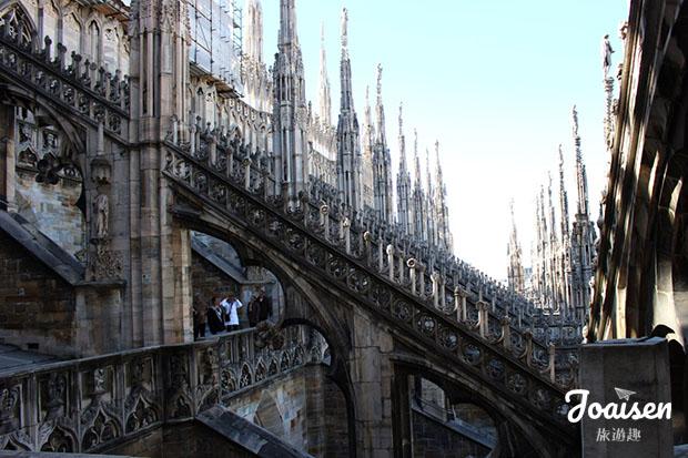 米蘭大教堂外部雕刻