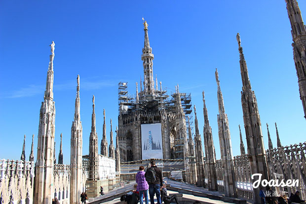 米蘭大教堂頂部
