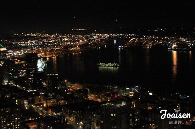 【美國華盛頓】西雅圖夜未眠!欣賞愈夜愈美的翡翠之都