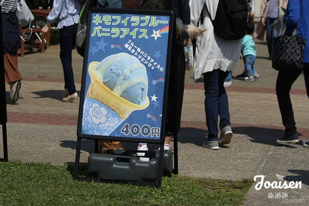 粉蝶花冰淇淋