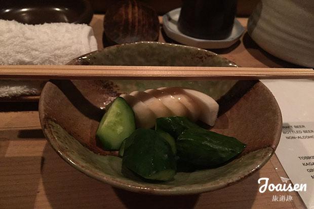 お通し (前菜 Otoshi)