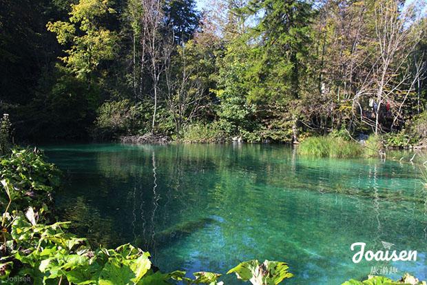 十六湖國家公園內景色