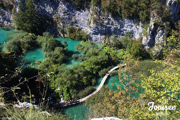 【克羅埃西亞利卡-塞尼】十六湖國家公園Plitvice Lake National Park – 健行路線分享篇