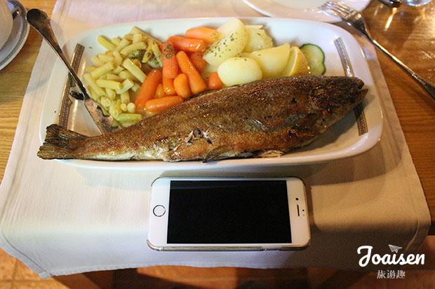 烤鱒魚 Grilled Trout