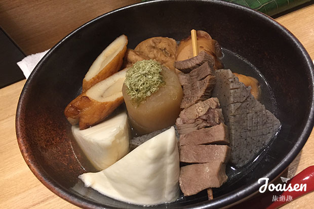 【日本東京】錦系町關東煮店家「金魚と風鈴」