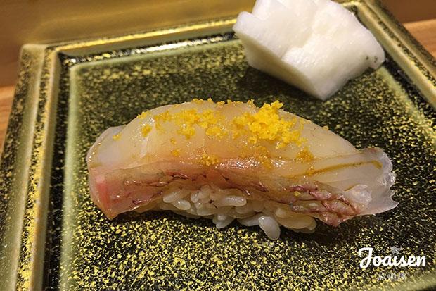 九州鯛魚壽司