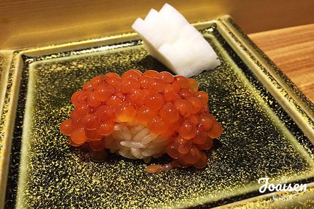生筋子壽司