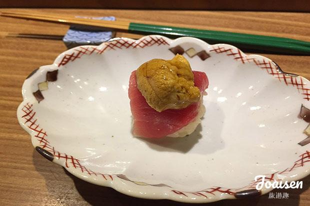 海膽鮪魚壽司