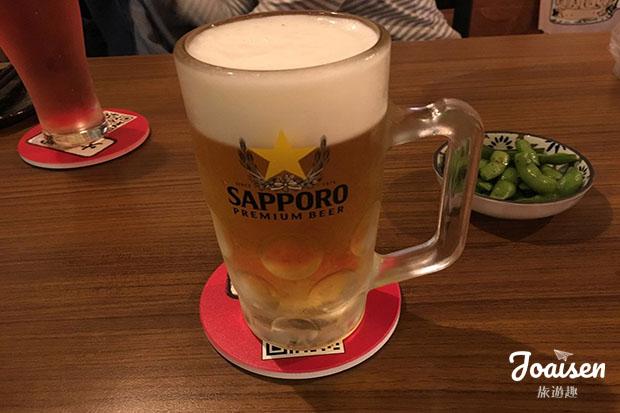 Sapporo生啤酒