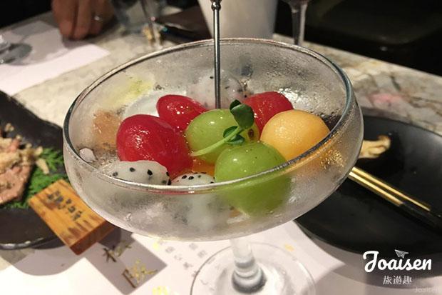 冰甜水果杯