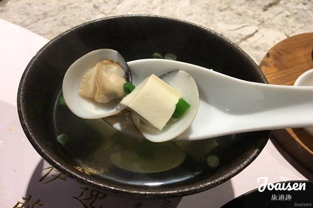 豆腐蛤蠣湯