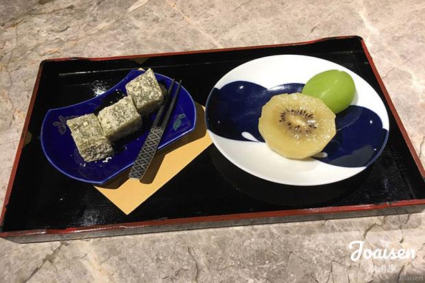 日式蕨餅+水果盤