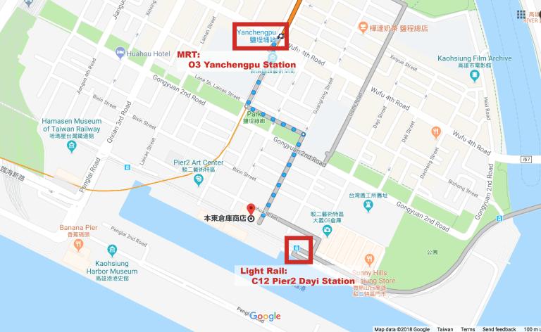 圖片擷取自Google Map
