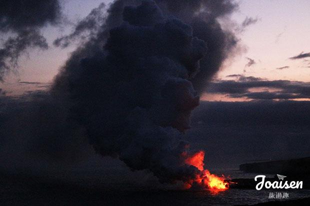 【美國夏威夷】大島火山國家公園觀賞岩漿入海——Kalapana Lava Road